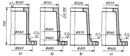 Гост р 53465-2009: оснастка литейная. Уклоны литейные.